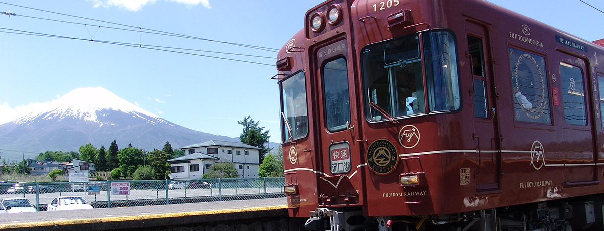 Ropeway round trip + Fuji Express Line [Kawaguchiko → Otsuki] one-way ticket * not a free ticket